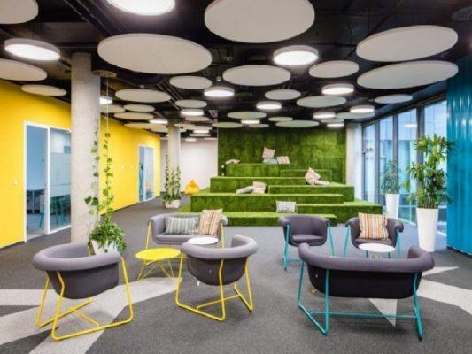 Xu hướng thiết kế nội thất văn phòng.