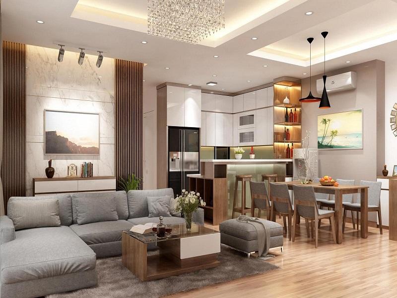 Báo giá thiết kế nội thất nhà ở nhanh chóng uy tín