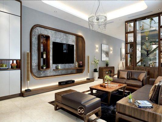 Thiết kế thi công nội thất nhà phố