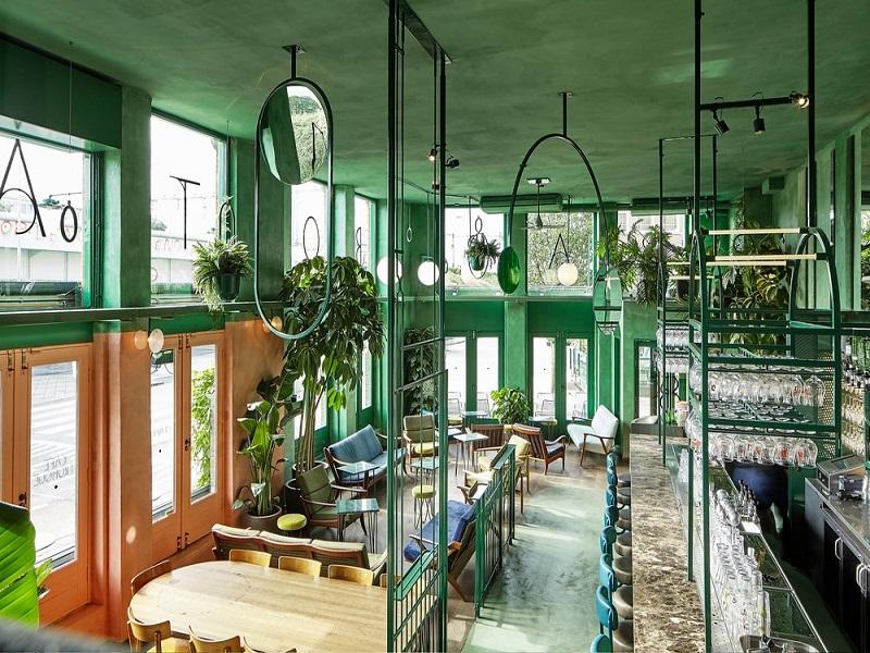 Phong cách Tropical đem đến không gian xanh trong lành