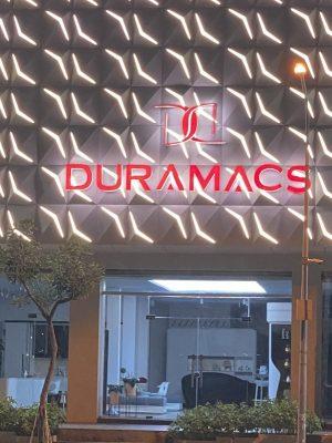 Chữ nổi đèn lêd hắt sáng Duramacs Quận 7