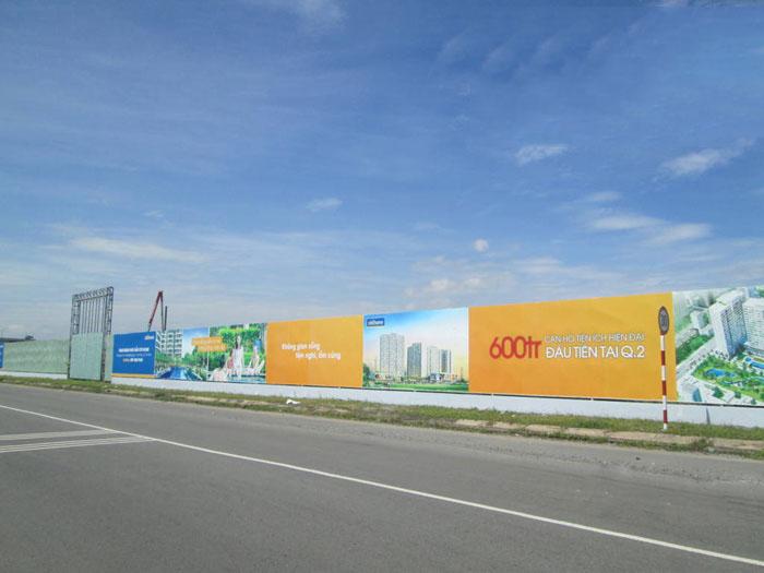 Hàng rào công trình xây dựng