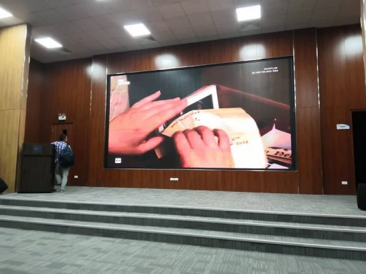 Lắp đặt màn hình LED tại Nhà Bè