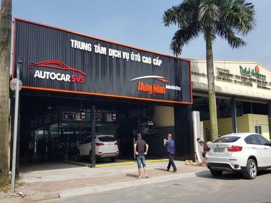 Làm biển hiệu ở đường Nguyễn Văn Linh Quận 7.